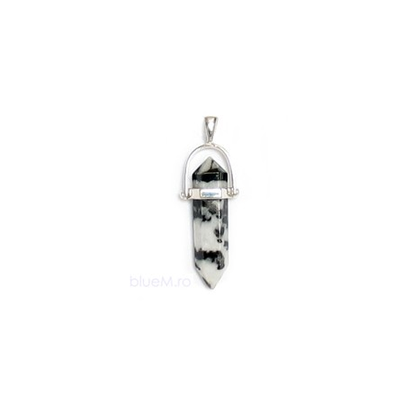 Pandantiv dendrit agat, argint 925